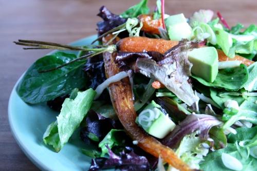 RECIPE: Roasted carrot salad with lemon truffle dressing | London ...