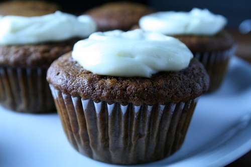 molasses & ginger cupcakes