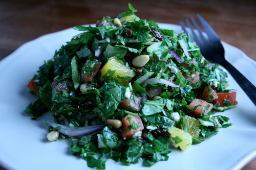 Tabboulish salad