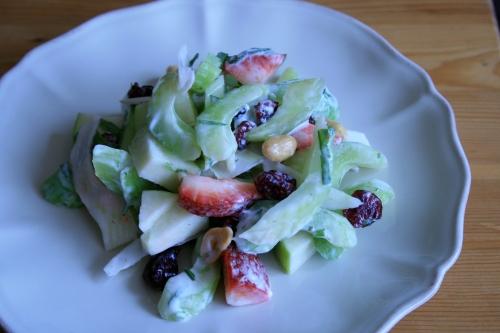 Waldorf salad with a twist