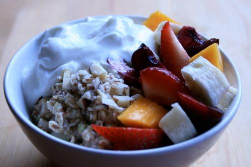 Summer oatmeal