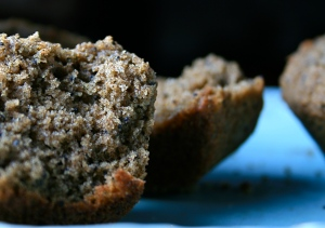buckwheat & poppyseed muffins